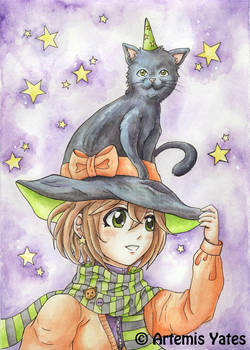 Little Witch's Cat Hat