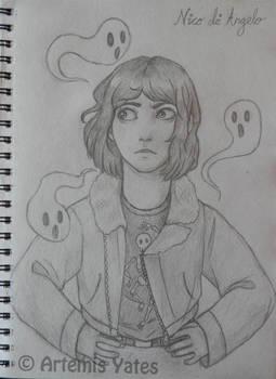 Nico di Angelo Sketch