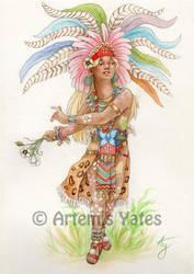 Xochipilli by Artemis-Yates