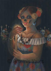 Day of the Dead Catrina by Artemis-Yates