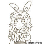 Bunny Lyon WIP Outlines