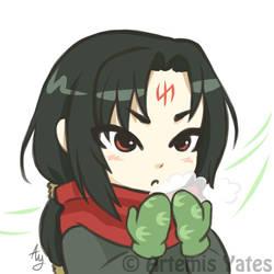 Fire Emblem Chibi Winter Soren
