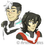 Shiro and Keith