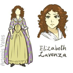 Elizabeth Lavenza 1818 Version