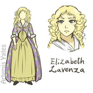 Elizabeth Lavenza 1831 Version