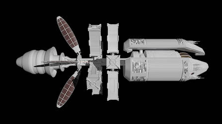 LightBulb Ship Mk.2.1 - WIP 1 by 9nin