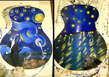 Starry Night on a Guitar