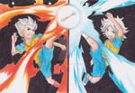 Goenji and Fubuki by XetaUzumaki