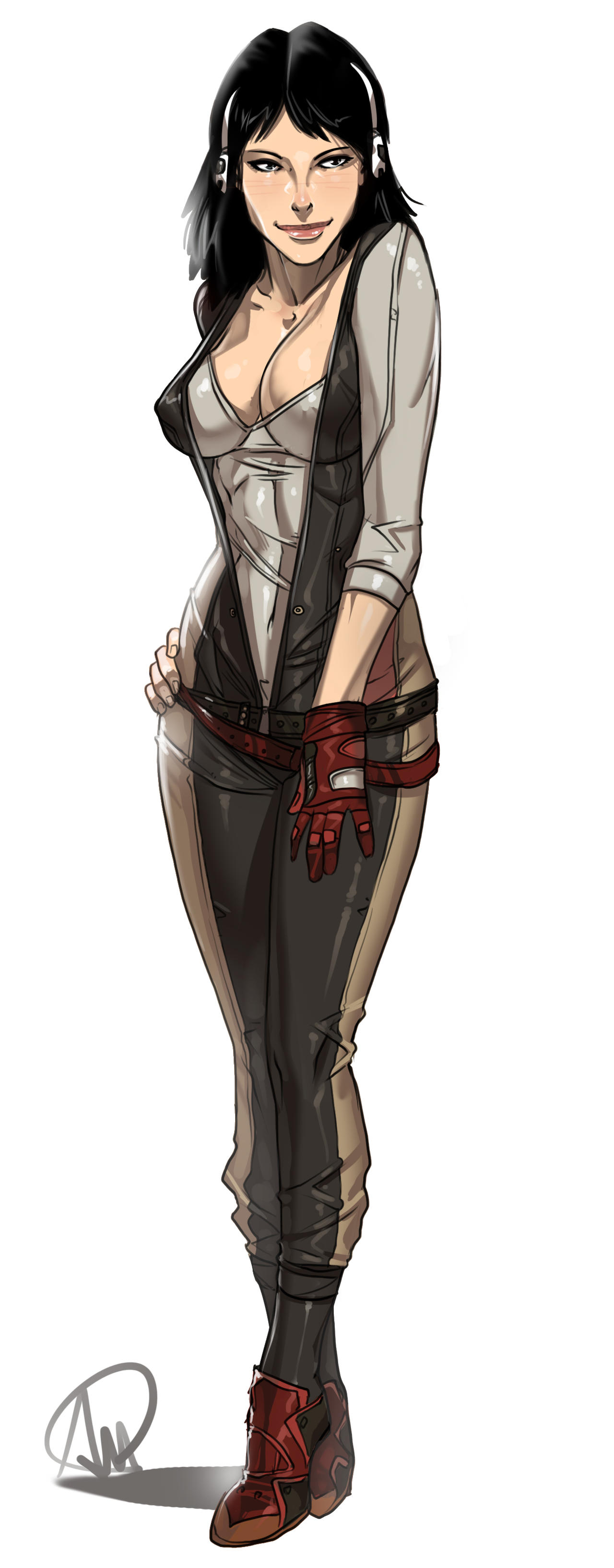 Assassins Creed Rebecca Crane by elcarlo42 on DeviantArt
