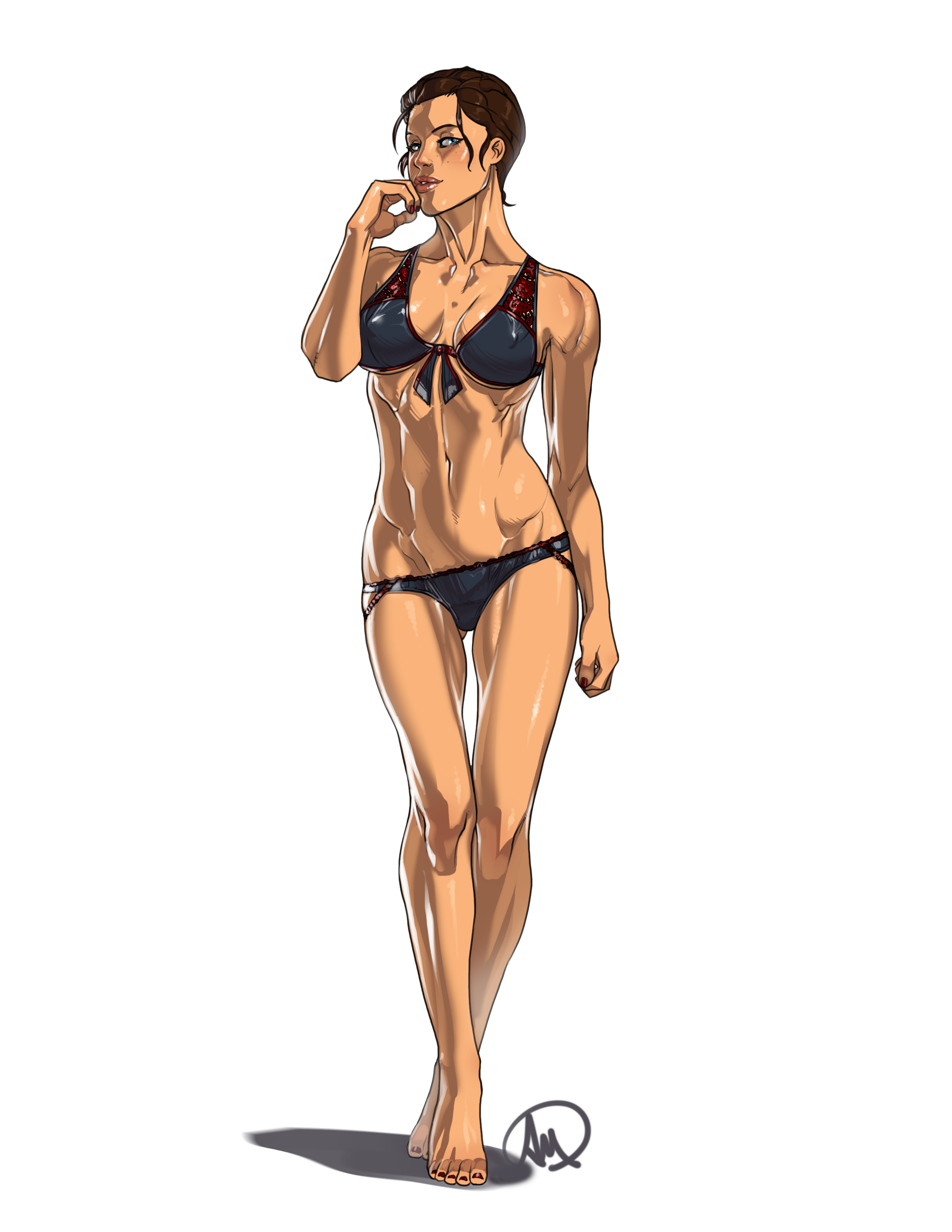 Assassins Creed Evie Frye bikini by elcarlo42 on DeviantArt