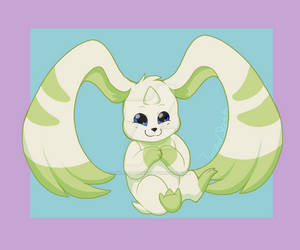 Commission - Terriermon