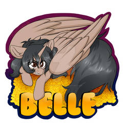 Commission - Belle Badge