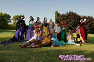 Disney Princess Group by Tatina84