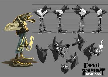 Devil Planet DD by kanggoon