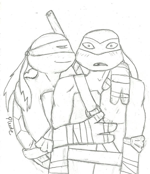 Raph/Donnie by violet-plude