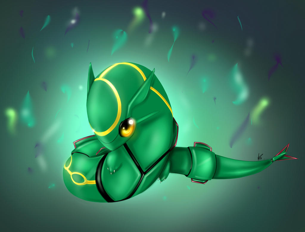 Baby Rayquaza by ARAS-CHAN