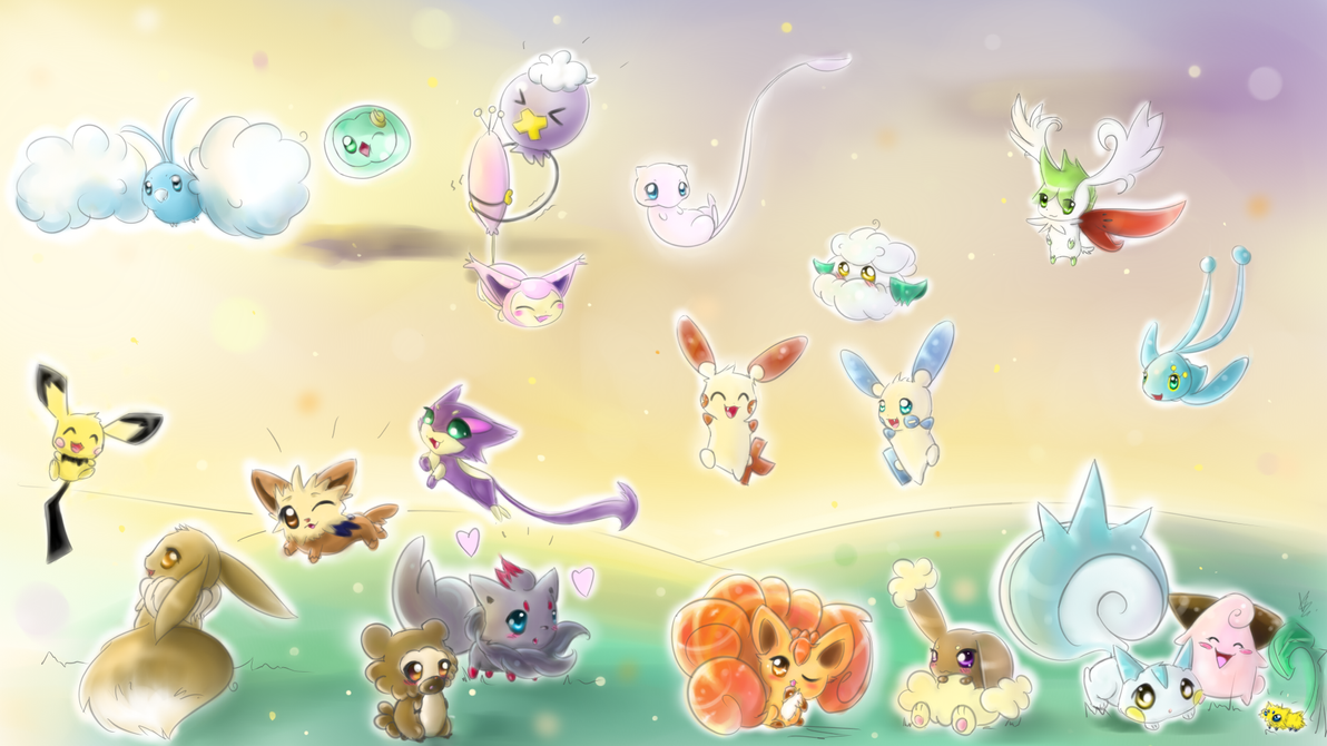 Pokemon wallpaper by ARAS-CHAN