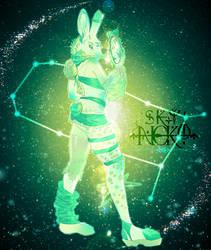 Gemini, the artist ~ In color!