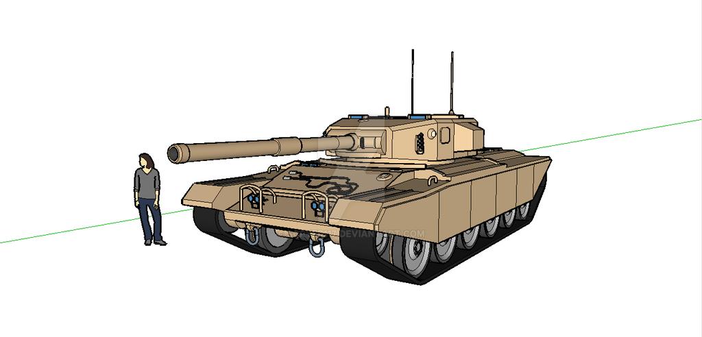 Centurion Mk3-1b by Scryer117