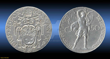 Coin 50 Cents 1931 - (Vatican)