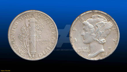 Coin 1 Dime 1942 - (United States of America)