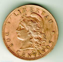 Two Centavos 1895 - Argentina