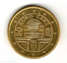 50 euro cents - Austria 2010