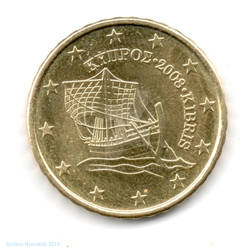 10 euro cents - 2008 - Cyprus
