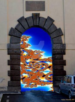 The entrance to the fractal world