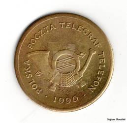 Poland - Telephone Coin of 1990