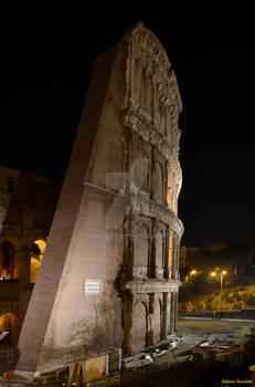 The Colosseum seen at night - Il Colosseo di notte