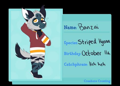 Banzai   CreatureCrossing