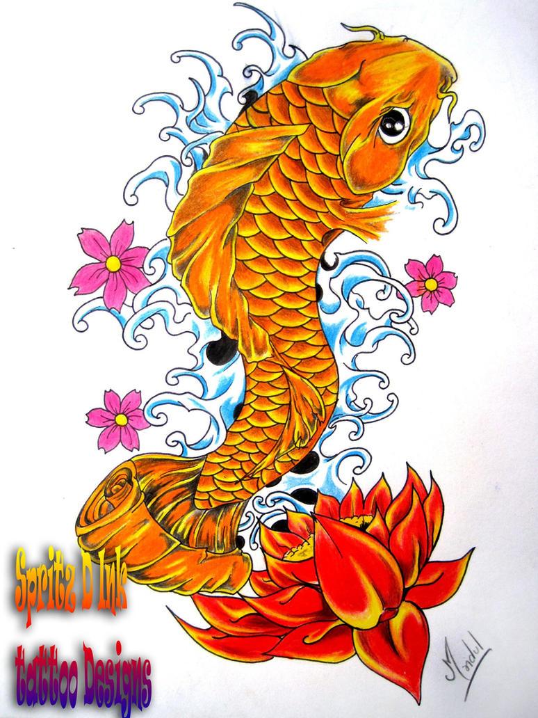 Koi fish by pintso on deviantart for Koi fish artwork