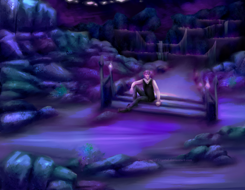 Resting at BridgeCity by Dewdrops-of-Crystal