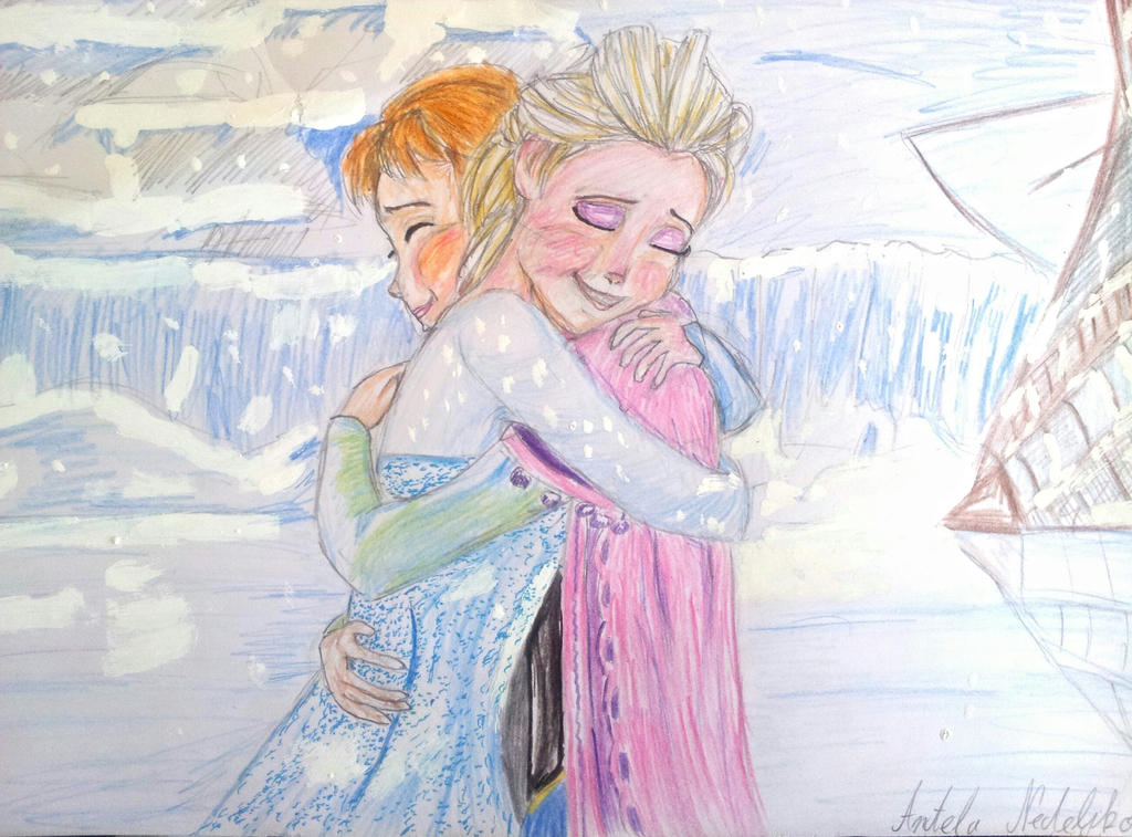 Yes I want to build a snowman by AngelaNedeljkovic