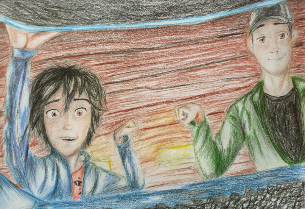 Hiro and Tadashi by AngelaNedeljkovic