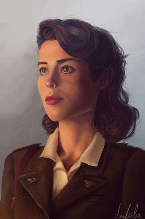 Peggy Carter by AngelaNedeljkovic