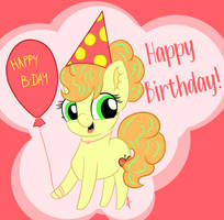 Happy Birthday! (2020) by AppleNeedle
