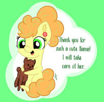 Thank you for llama! (2020) by AppleNeedle