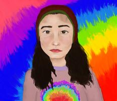 Self Portrait (+Speedpaint) by Re-juvenate