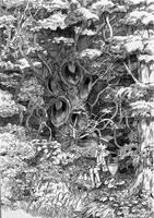 Strange tree by efira-japan