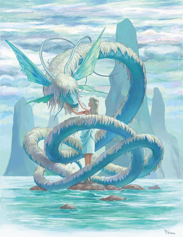 Water dragon by efira-japan