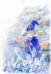 Fairy of amethyst