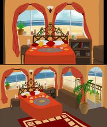 Puerto Lobos - Bedroom