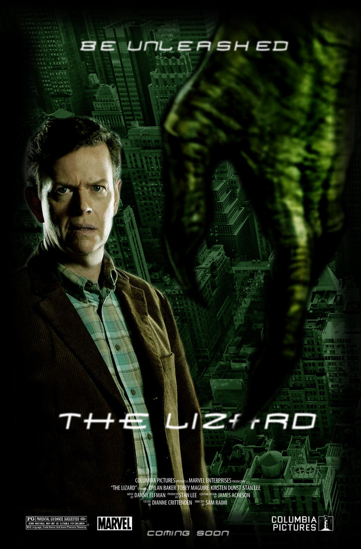 Request: The Lizard - Movie Poster by Delorean7 on DeviantArt