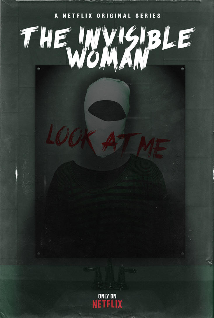 The Invisible Woman - Poster by Delorean7