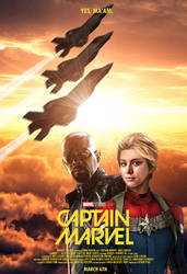 Marvel's Captain Marvel - Theatrical Poster by Delorean7