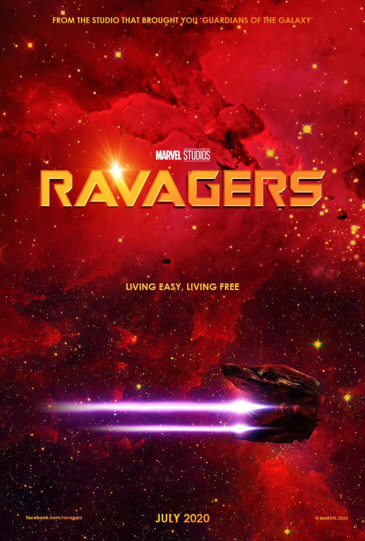 Marvel's Ravagers - Teaser Poster by Delorean7