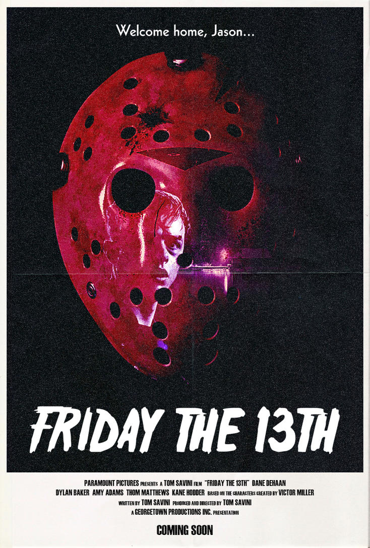Friday the 13th (2018) - Poster by Delorean7