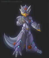Blizzard Wolfang + Megaman by Shin500